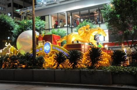 CNY 2012 Cathay Night Parade TST Lunar New Year 15 Jockey Club HKJC Float