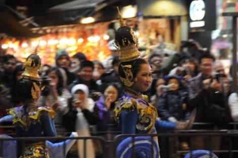 CNY 2012 Cathay Night Parade TST Lunar New Year 7 Thai Dancer