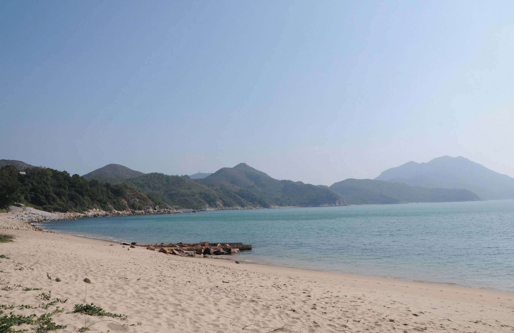 Lamma Island Power Station Beach