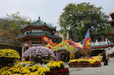Yuen Yuen Institute Tsuen Wan 1 Temple New Territories