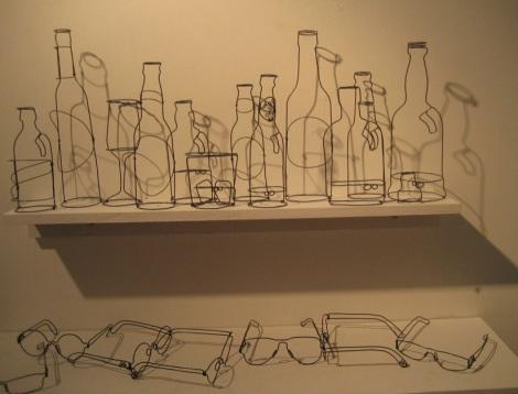 ArtWalk 2012 11 David Zalben exhibition in Karin Weber Gallery