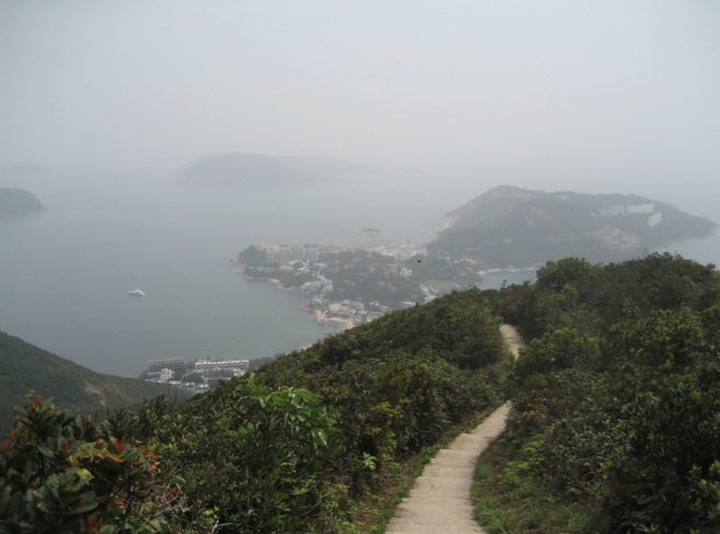 Hiking Wilson Trail Stage 1 Aka The Twins on The Repulse Bay Hong Kong
