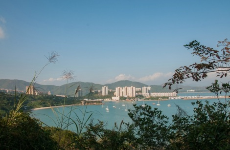 Mui Wo 10 view over Discovery Bay