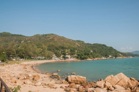 Mui Wo 3 beach and bay