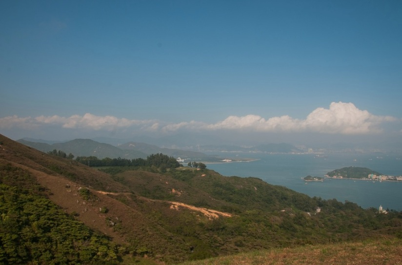 Mui Wo 6 view over Discovery Bay