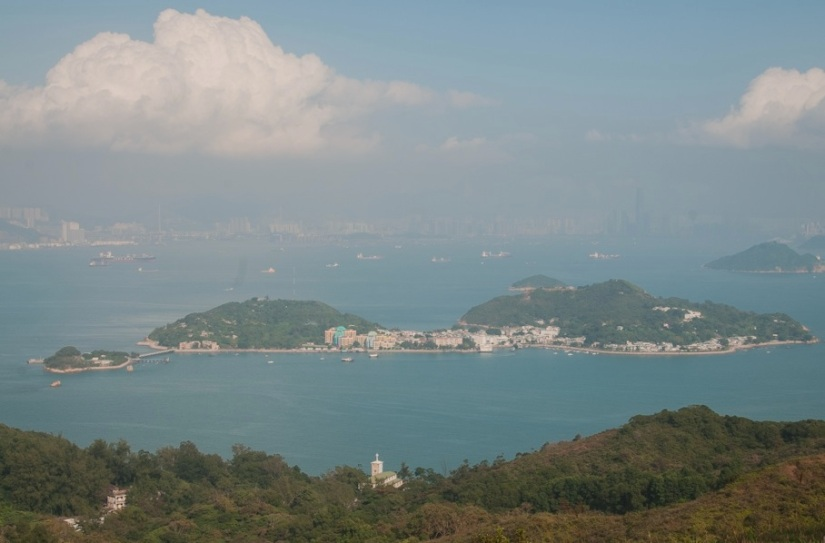 Mui Wo 7 view over Peng Chau