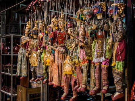 2 Bangkok Chatuchak Weekend Market Puppets