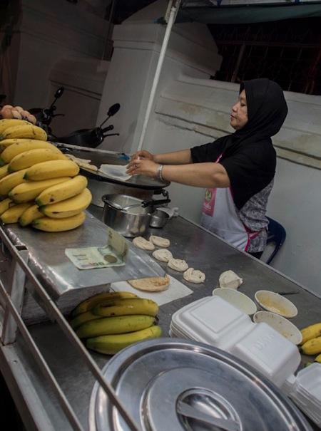 Banana roti in Chiang Mai 2