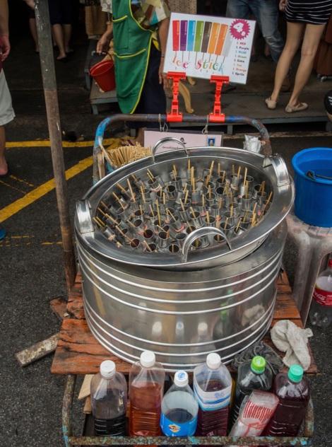 Bangkok Chatuchak Weekend Market Ice cream 1
