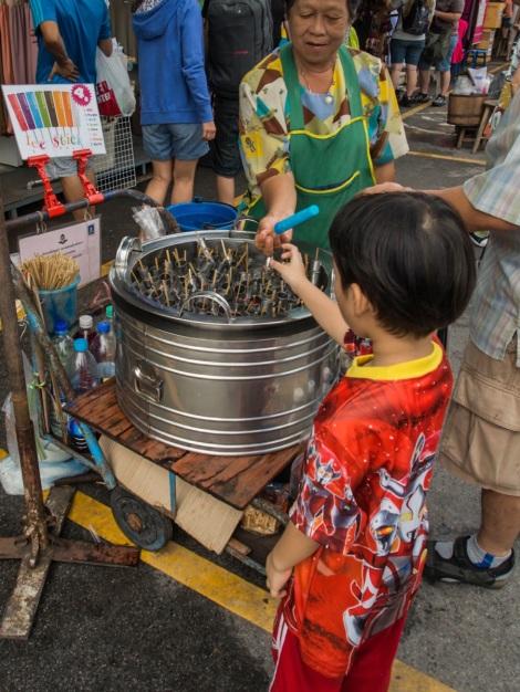 Bangkok Chatuchak Weekend Market Ice cream 2