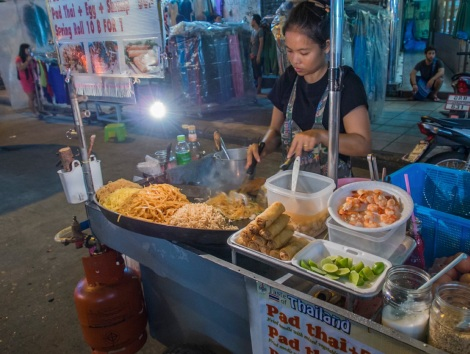 Bangkok Khao San Road 1 Food stall