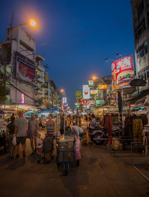 Bangkok: Khao San Road and surroundings  bluebalu: Living ...