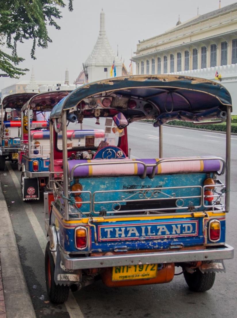 Bangkok Tuk Tuk 1