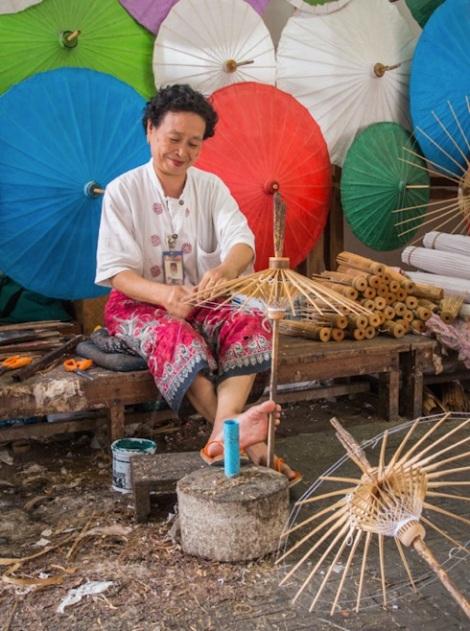 Bo Sang Umbrella Village 5