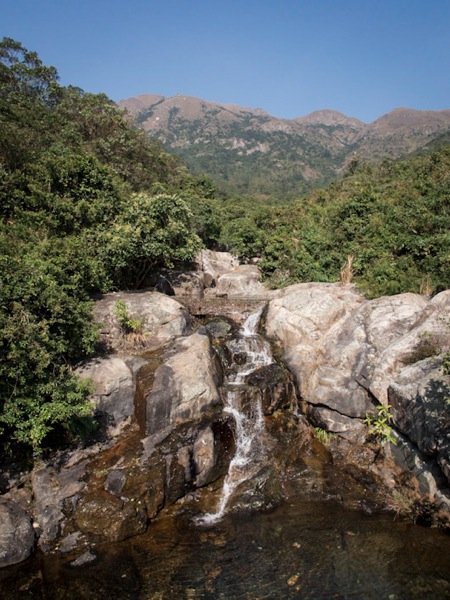 Lantau Trail Stage 11-3 Waterfall