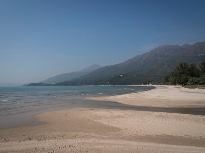 Lantau Trail Stage 12-6 Beach