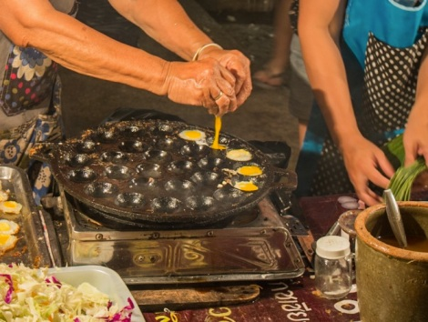 Street food in Chiang Mai 1 small eggs