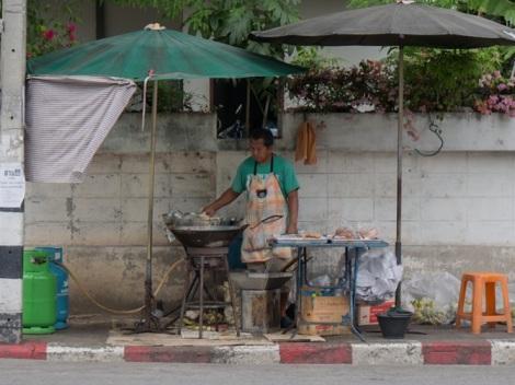 Street food in Chiang Mai 3 banana fritters
