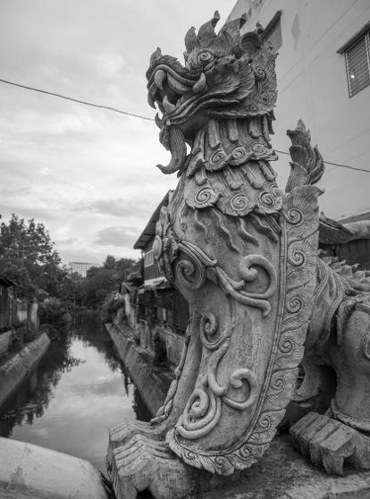 Chiang Mai B&W Favourite 10 Dragon