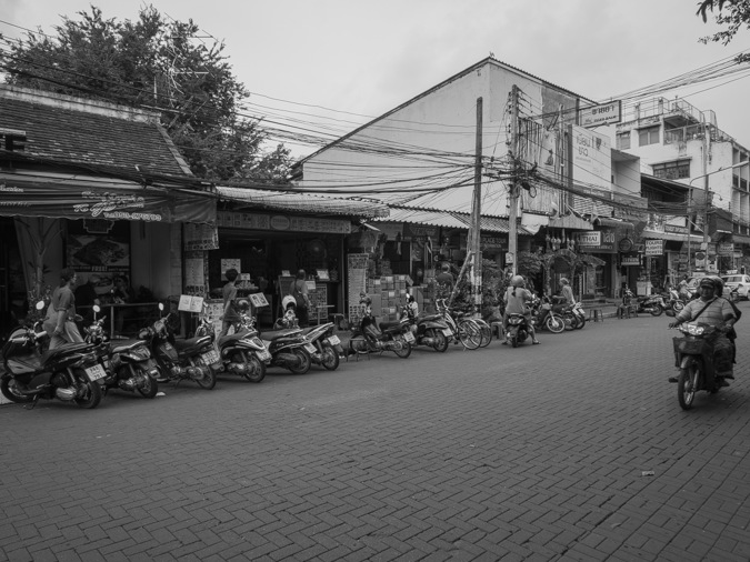 Chiang Mai B&W Favourite 4 Typical Street