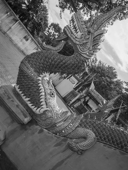 Chiang Mai B&W Favourite 7 Temple