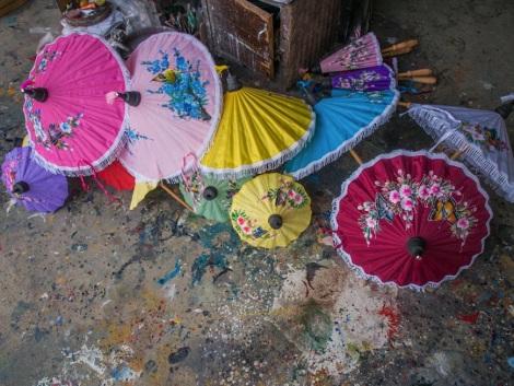 Favourite Chiang Mai pics 1 umbrella