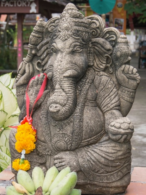 Favourite Chiang Mai pics 2 Ganesh Elephant Statue