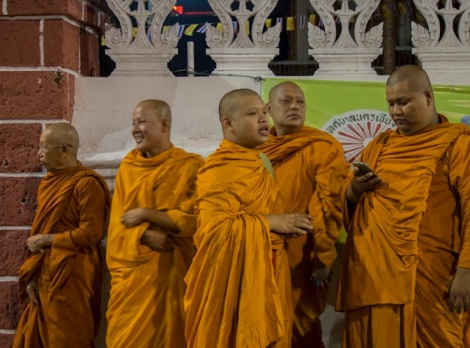 Monks in Chiang Mai 5