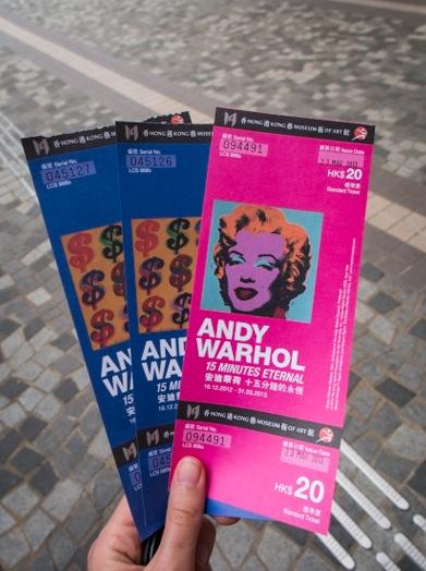 Andy Warhol Ausstellung in TST 0