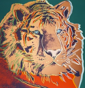 Andy Warhol Tiger