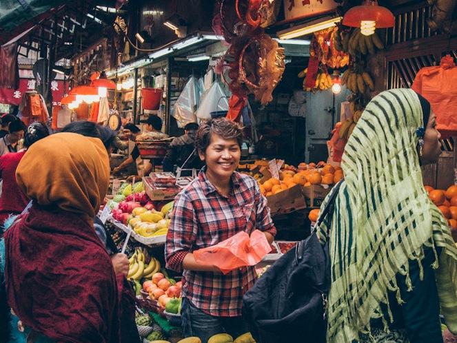Bowrington Road Market 5 Fruit Stall