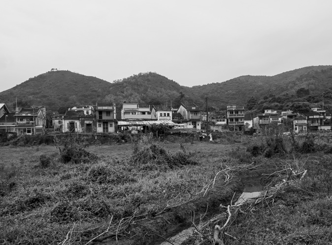 Lai Chi Wo Hike Black and White Impressions 1