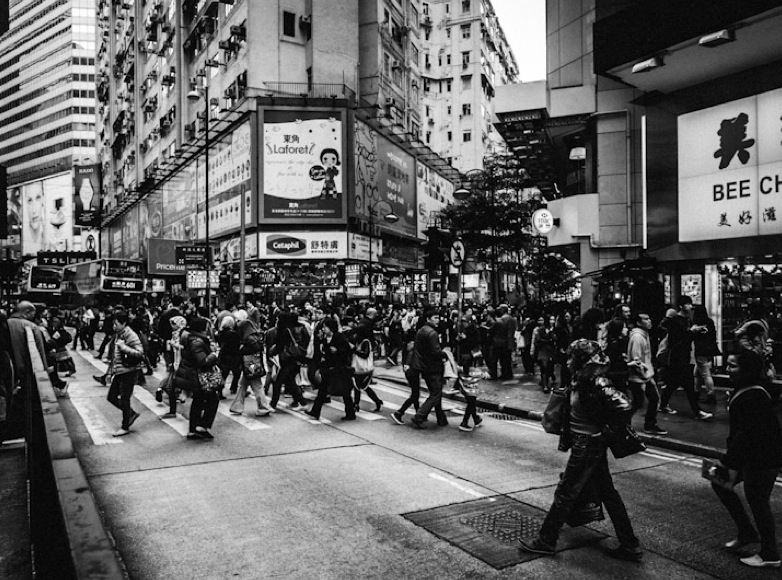 People in Causeway Bay 1