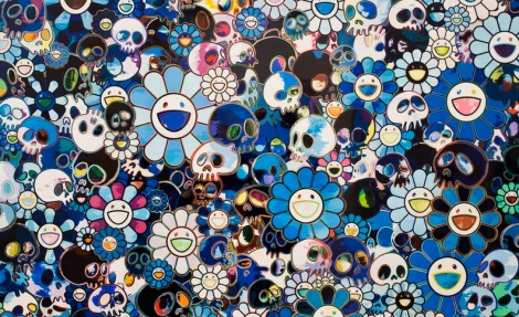 Takashi Murakami at the Gagosian Gallery Hong Kong Jan 2013 0