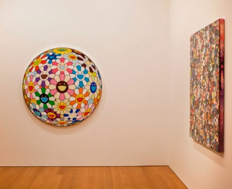 Takashi Murakami at the Gagosian Gallery Hong Kong Jan 2013 2