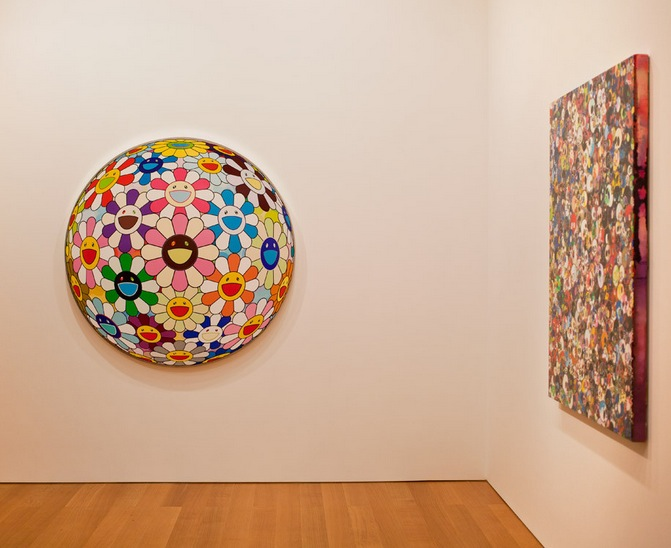 Takashi Murakami at the Gagosian Gallery Hong Kong Jan 2013 2