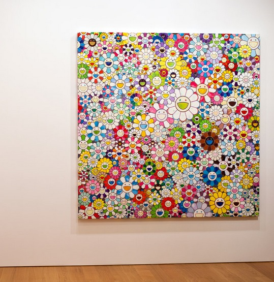 Takashi Murakami at the Gagosian Gallery Hong Kong Jan 2013 3