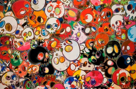 Takashi Murakami at the Gagosian Gallery Hong Kong Jan 2013 4