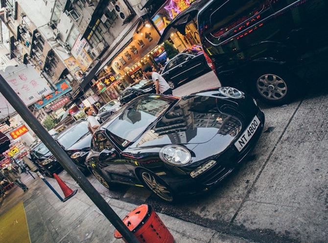 Temple Street Yau Ma Tei 5 Rich car