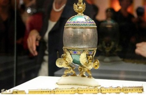 Fabergé exhibition in Hong Kong 2