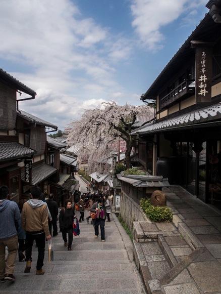 Higashiyama in Kyoto 1