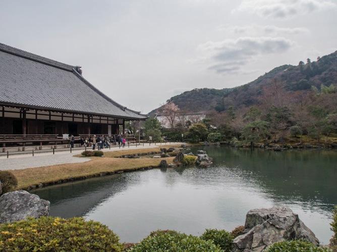 Tenryuji Temple in Arashiyama 1