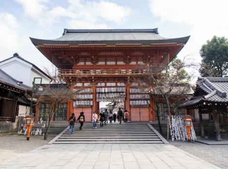 Yasaka Shrine in Gion Kyoto 1