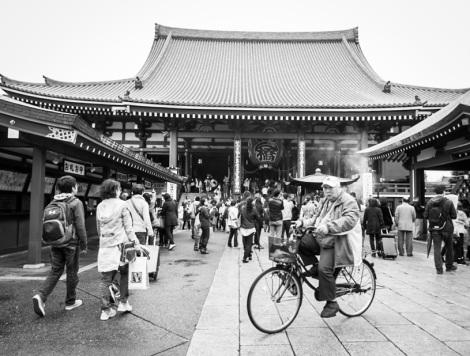 2 B&W Sensoji Temple 1