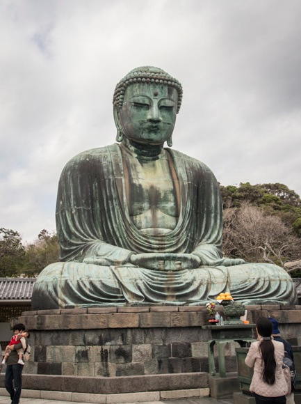 Great Buddha at Kōtoku-in Temple Kamakura 1