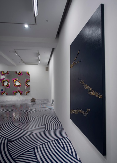 Jim Lambie in Pearl Lam Galleries 4