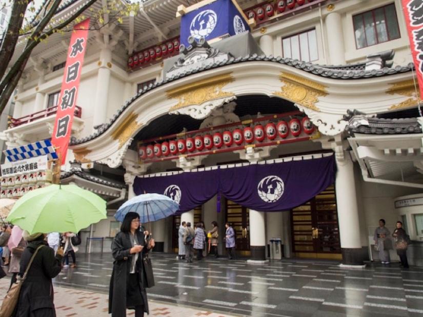 Kabuki-za theatre opening 4
