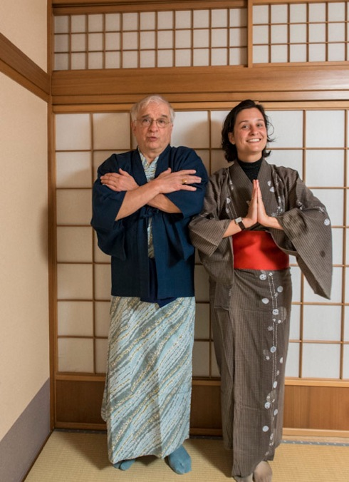 Kimono in Takayama 1