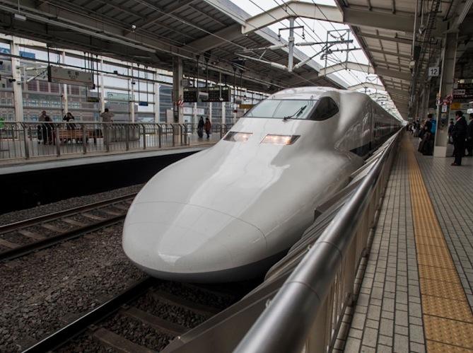 Kyoto Station 3 Shinkansen