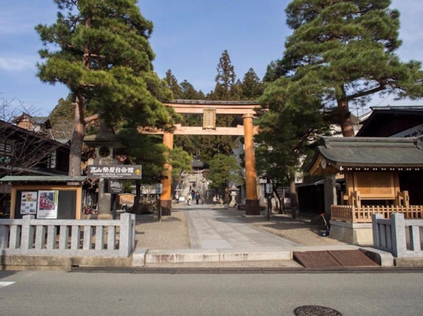 Sakurayama Hachimangu Shrine Takayama 1